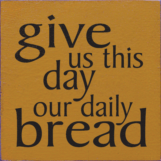 Fine Dining – Daily Bread