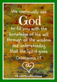 Prayer of Wisdom