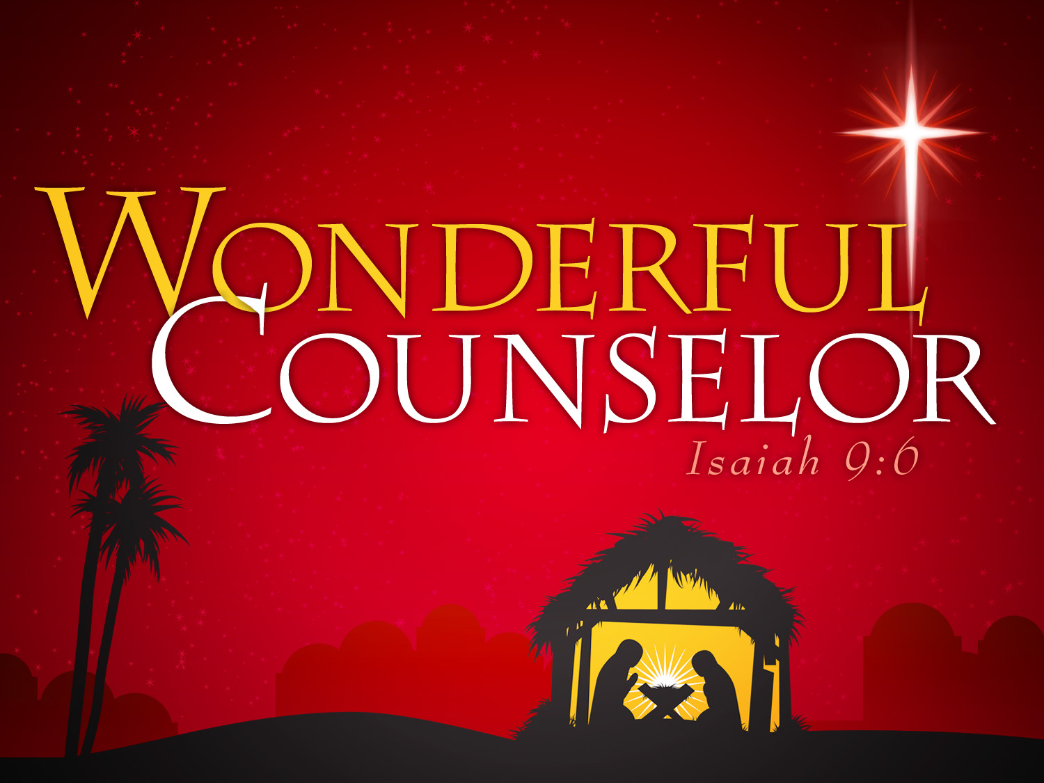 Wonderful Counselor – Jesus is Hope